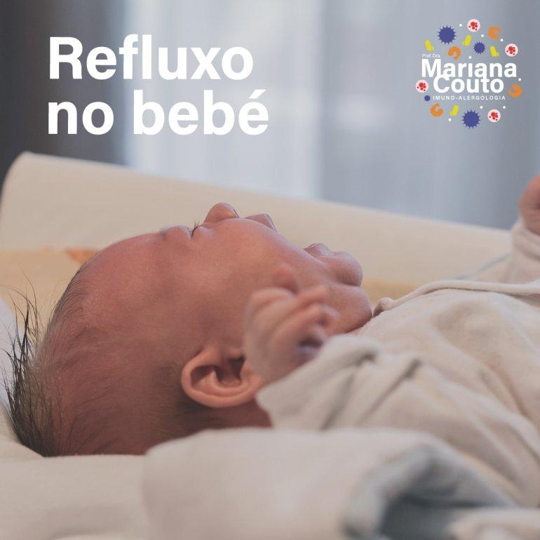 Refluxo no bebé