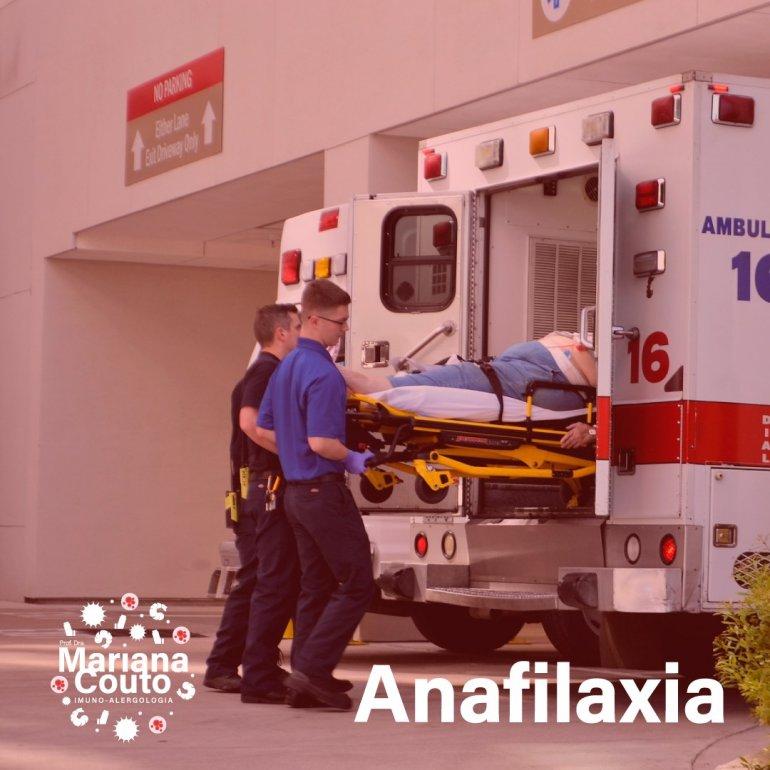 Anafilaxia - Sinais e Sintomas e complicações