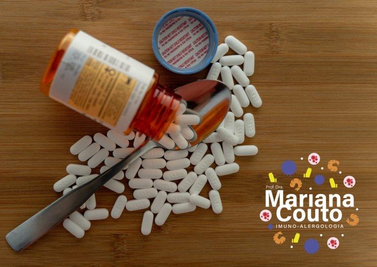 Alergia aos excipientes dos medicamentos?