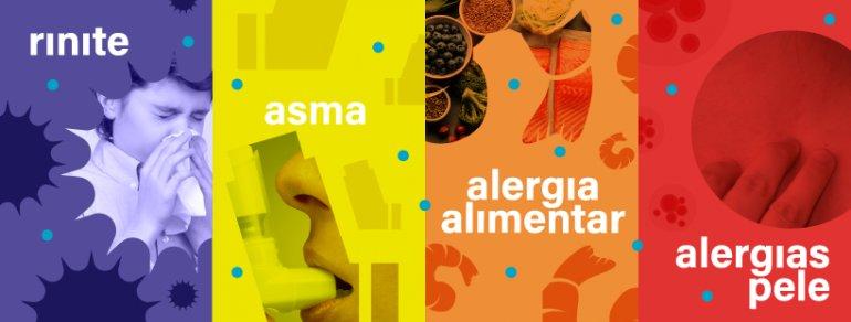 Quais são as doenças alérgicas mais frequentes?