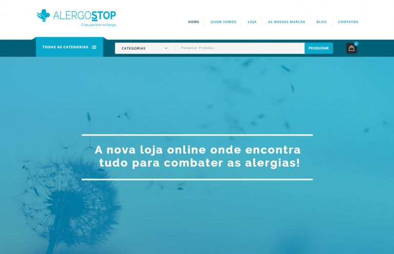 Extra! Extra! Uma loja online com múltiplos produtos para alérgicos!!