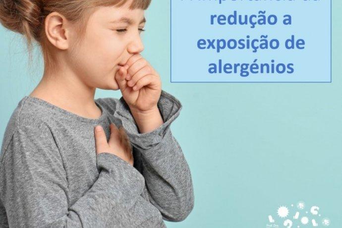 Novo estudo mostra a importância da redução a exposição de alergénios na asma