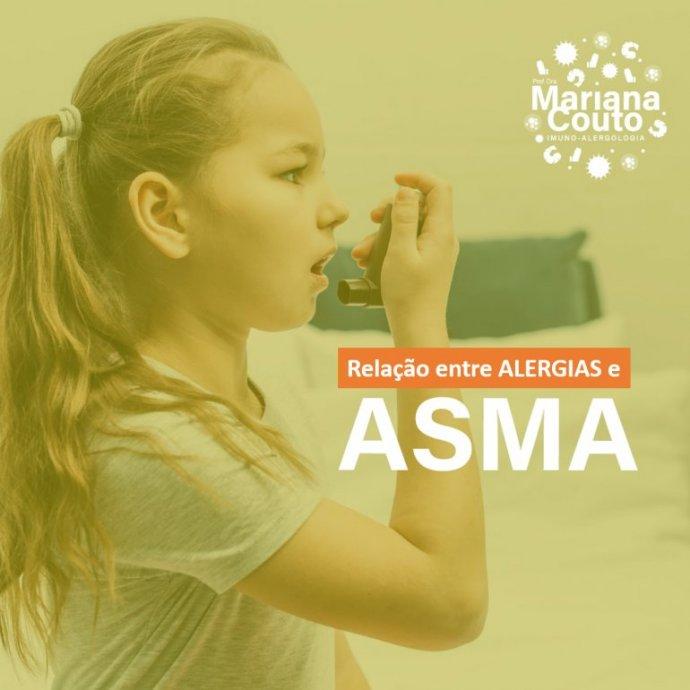 Alergias e sua relação com asma nas crianças